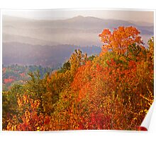 AUTUMN, FOOTHILLS PARKWAY Poster