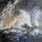 Roker Lighthouse by Sue Nichol
