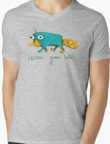 Perry the Platypus Mens V-Neck T-Shirt