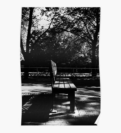 Bench. Poster