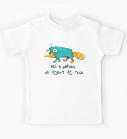 Perry the Platypus v2.0 Kids Tee
