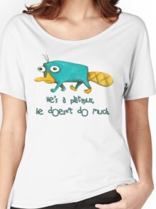 Perry the Platypus v2.0 Women's Relaxed Fit T-Shirt
