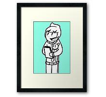 Obie and Oddy Framed Print