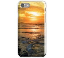 beal beach sunset near ballybunion iPhone Case/Skin