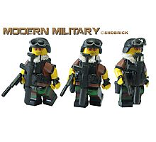 Modern Military  Photographic Print