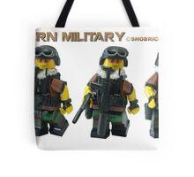 Modern Military  Tote Bag