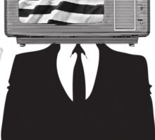 TV CITIZEN (Male) Sticker