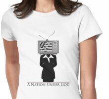 TV CITIZEN (Female) Womens Fitted T-Shirt