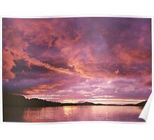 Dexter Sunset Poster