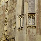 Windows and Sculptures on a Castle Wall by keem