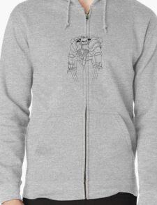 Armour Zipped Hoodie