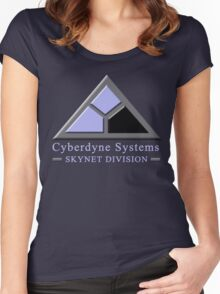 Cyberdyne Systems Skynet Division Women's Fitted Scoop T-Shirt