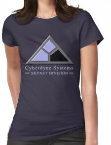 Cyberdyne Systems Skynet Division Womens Fitted T-Shirt