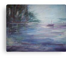 Misty Beginnings Canvas Print