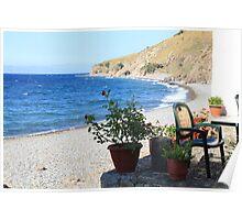 Eftalou Beach Poster