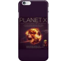 PLANET X NIBIRU INFOGRAPHIC iPhone Case/Skin