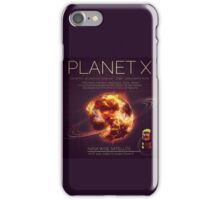 PLANET X NIBIRU INFOGRAPHIC iPhone Case/Skin