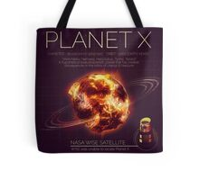 PLANET X NIBIRU INFOGRAPHIC Tote Bag