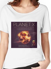 PLANET X NIBIRU INFOGRAPHIC Women's Relaxed Fit T-Shirt