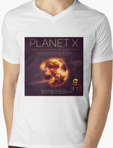 PLANET X NIBIRU INFOGRAPHIC Mens V-Neck T-Shirt