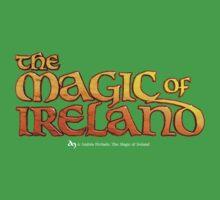 The Magic of Ireland logo Kids Tee