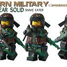 Modern Military Snake by Shobrick