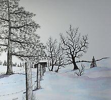 Winter Blues by Jack G Brauer