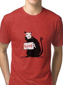 banksy Tri-blend T-Shirt