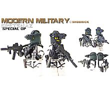 Modern Military Spetnaz Photographic Print
