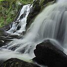 Hornsbeck Creek Falls 2 by Stephen Vecchiotti