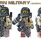 Modern Military CIA by Shobrick