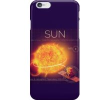 SUN INFOGRAPHIC iPhone Case/Skin