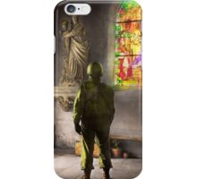 WWII - A prayer for Courage 1940 iPhone Case/Skin