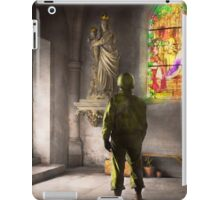 WWII - A prayer for Courage 1940 iPad Case/Skin