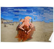 Nude Mosaic Poster