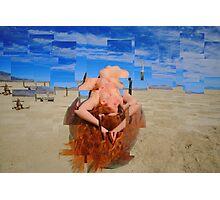 Nude Mosaic Photographic Print