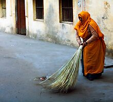 Street sweeper by Mark Smart