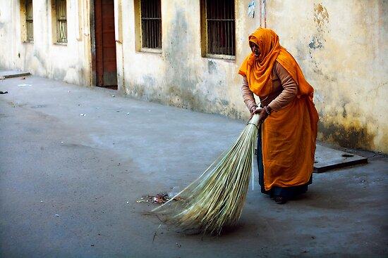 Street sweeper by Mark Smart