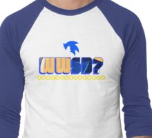 What Would Sonic Do? Men's Baseball ¾ T-Shirt