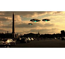 X8 UFO by Raphael Terra Photographic Print