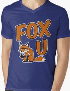 FOX U Mens V-Neck T-Shirt