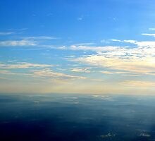 Up Above the World with the Sun Beams Shinning  by DearMsWildOne