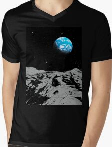 From the Moon Mens V-Neck T-Shirt