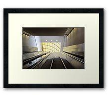 Atlanta Escalator  Framed Print
