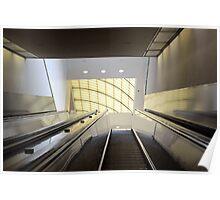 Atlanta Escalator  Poster