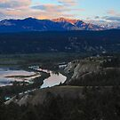 Columbia Valley Sunrise by Michael Collier
