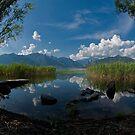 Lake Oggiono - Italy by Luca Renoldi