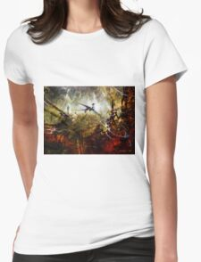 Dragon Realms Womens Fitted T-Shirt