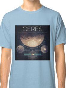 Dwarf Planet Ceres Infographic NASA Classic T-Shirt