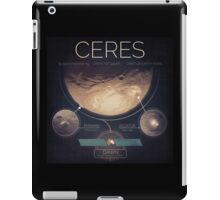 Dwarf Planet Ceres Infographic NASA iPad Case/Skin